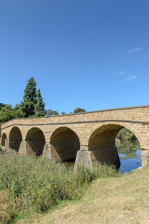 Bridge in Richmond, Tasmania. Australia's oldest bridge