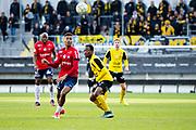 G&Ouml;TEBORG SVERIGE - 2017-11-11: &Ouml;rgryte Jens Cajuste  under kvalmatchen till Superettan mellan &Ouml;rgryte IS och Mj&auml;llby AIF p&aring; Gamla Ullevi den 11 november i G&ouml;teborg, Sverige.<br /> Foto: Jonas Gustafsson/Ombrello<br /> ***BETALBILD***