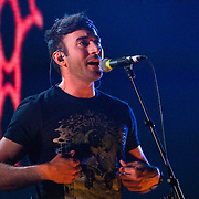 Sufjan Stevens performs to a packed Majestic Theatre on Sunday Night.(Special to the Star-Telegram/Rachel Parker)