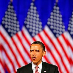 20110415: USA, US President Barack Obama in Chicago