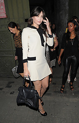 Model Daisy Lowe attends the Moschino Catwalk Show at at The Farmiloe Building, during London Fashion Week. UK. 15/09/2012<br />BYLINE MUST READ : GOTCHAIMAGES.COM<br /><br />Copyright by © Gotcha Images Ltd. All rights reserved.<br />Usage of this image is conditional upon the acceptance <br />of Gotcha Images Ltd, terms and conditions available at<br />www.gotchaimages.com