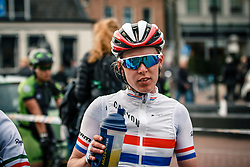 BARNES Hannah of GBR after the UCI Women's WorldTour Ronde van Drenthe at Drenthe, The Netherlands, 11 March 2017. Photo by Pim Nijland / PelotonPhotos.com | All photos usage must carry mandatory copyright credit (Peloton Photos | Pim Nijland)