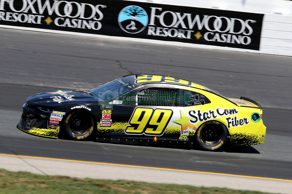 July 20, 2018 - Loudon, NH, U.S. - LOUDON, NH - JULY 20: Kyle Weatherman, driver of the #99 StarCom Fiber Chevy during  practice for the Monster Energy Cup Series Foxwoods Resort Casino 301 race on July, 20, 2018, at New Hampshire Motor Speedway in Loudon, NH. (Photo by Malcolm Hope/Icon Sportswire) (Credit Image: © Malcolm Hope/Icon SMI via ZUMA Press)