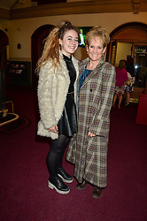 Actress LORRAINE ASHBOURNE and her daughter RUBY SERKIS arriving at Swan Lake at The Royal Albert Hall, London on 2nd June 2016.