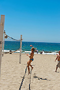 Redondo Beach; CA; Torrance Beach,  Sand, Volleyball, Ocean Waves, Sunbathing, Activities
