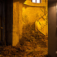 "Installation by Dusica Drazic at the 51st October Salon, ""The Night Pleases Us,"" Belgrade, Serbia."