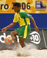 Football-FIFA Beach Soccer World Cup 2006 - Group A- Brazil - USA, Beachsoccer World Cup 2006. Brasilian's Benjamin - Rio de Janeiro - Brazil 07/11/2006. Mandatory credit: FIFA/ Manuel Queimadelos