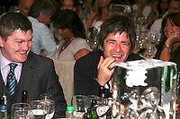 Noel Gallagher and Ricky Hatton
