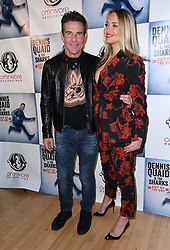 December 4, 2018 - West Los Angeles, CA, U.S. - 04 December 2018 - West Los Angeles, California - Dennis Quaid, Santa Auzina. Dennis Quaid and The Sharks Album Release Party and Performance held at The Village. Photo Credit: Birdie Thompson/AdMedia (Credit Image: © Birdie Thompson/AdMedia via ZUMA Wire)
