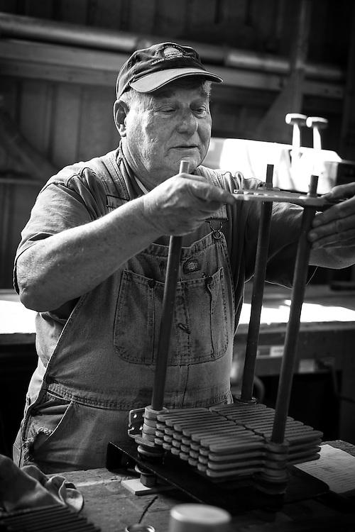 Gary Baker, Volunteer Machinist   Western Railway Museum   April 16, 2014