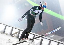February 8, 2019 - Lahti, Finland - Johann André Forfang participates in FIS Ski Jumping World Cup Large Hill Individual training at Lahti Ski Games in Lahti, Finland on 8 February 2019. (Credit Image: © Antti Yrjonen/NurPhoto via ZUMA Press)