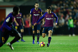 November 3, 2018 - Madrid, MADRID, SPAIN - Coutinho of FC Barcelona during the Spanish Championship, La Liga, football match between Rayo Vallecano and FC Barcelona on November 03th, 2018 at Estadio de Vallecas in Madrid, Spain. (Credit Image: © AFP7 via ZUMA Wire)