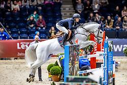 HOFFMANN Tim-Uwe (GER), Casta Lee FRH<br /> Preis der Familie Müter <br /> Deutschlands U25 Springpokal der Stiftung Deutscher Spitzenpferdesport<br /> Nat. Springprüfung Kl. S*** mit Stechen<br /> Braunschweig - Classico 2020<br /> 07. März 2020<br /> © www.sportfotos-lafrentz.de/Stefan Lafrentz