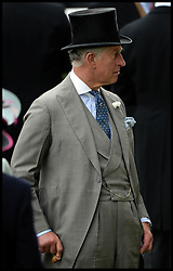 Prince Charles in the Parade ring on the Opening day of Royal Ascot 2013 Ascot, United Kingdom<br /> Tuesday, 18th June 2013,<br /> Picture by Andrew Parsons / i-Images