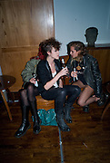 LAURA FRASER; ELIZA;  ALICE DELLAL; Nokia 'Capsule N96' ,  launch party. Century Club, 61-63 Shaftesbury Avenue, London *** Local Caption *** -DO NOT ARCHIVE-© Copyright Photograph by Dafydd Jones. 248 Clapham Rd. London SW9 0PZ. Tel 0207 820 0771. www.dafjones.com.