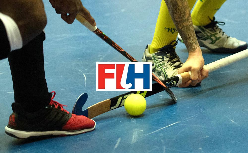 BERLIN - Indoor Hockey World Cup<br /> Trinidad &amp; Tobago - Australia<br /> foto: <br /> WORLDSPORTPICS COPYRIGHT FRANK UIJLENBROEK