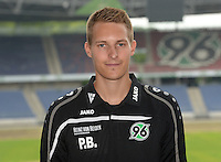 German Soccer Bundesliga 2015/16 - Photocall of Hannover 96 on 13 July 2015 in Hanover, Germany: Physiotherapist Patrick Borchers