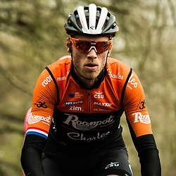 BOOM Lars ( NED ) – ROOMPOT - CHARLES ( ROC ) - NED – Querformat - quer - horizontal - Landscape - Event/Veranstaltung: Driedaagse Brügge - De Panne - Category/Kategorie: Cycling - Road Cycling - Elite Men - Location/Ort: Europe – Belgium - Flanders - Start: Brügge - Finish: De Panne - Discipline: Road Race ( RR ) - Distance: 200,3 km - Date/Datum: 27.03.2019 – Wednesday - Photographer: © Arne Mill - frontalvision.com