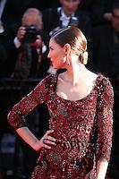 Bianca Balti at Venus in Fur - La Venus A La Fourrure film gala screening at the Cannes Film Festival Saturday 26th May May 2013