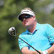 Carl Pettersson, Sweden, in action during the final round of the Travelers Championship at the TPC River Highlands, Cromwell, Connecticut, USA. 22nd June 2014. Photo Tim Clayton