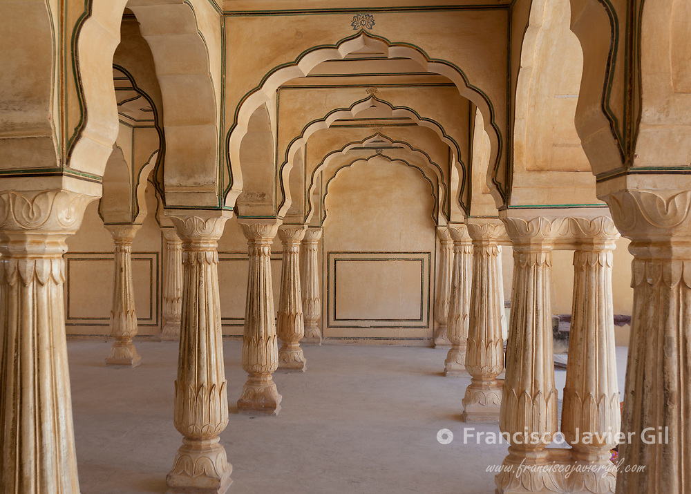Amber Fort near of Jaipur, Rajasthan, India
