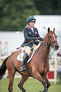 SECOND SUPREME ridden by Pippa Funnell during the final jumping event at Bramham International Horse Trials 2016 at  at Bramham Park, Bramham, United Kingdom on 12 June 2016. Photo by Mark P Doherty.