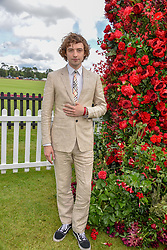Josh Whitehouse at the Cartier Queen's Cup Polo 2019 held at Guards Polo Club, Windsor, Berkshire. UK 16 June 2019. <br /> <br /> Photo by Dominic O'Neill/Desmond O'Neill Features Ltd.  +44(0)7092 235465  www.donfeatures.com