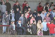 Fairfield fans - Harvester v Fairfield - Fosters Scottish Sunday Trophy semi final<br />