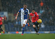 Blackburn Rovers defender, Tommy Spurr (3) during the Sky Bet Championship match between Blackburn Rovers and Brighton and Hove Albion at Ewood Park, Blackburn, England on 16 January 2016.