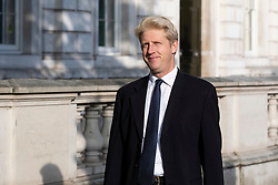 © Licensed to London News Pictures. 16/10/2018. London, UK. Minister of State for the Department for Transport Jo Johnson MP on Whitehall. Photo credit: Rob Pinney/LNP