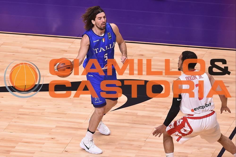 Ariel Filloy<br /> Nazionale Italiana Maschile Senior<br /> Eurobasket 2017 - Group Phase<br /> Georgia  Italia Georgia Italy<br /> FIP 2017<br /> Tel Aviv, 06/09/2017<br /> Foto Ciamillo - Castoria/ GiulioCiamillo