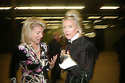 LYNN ROTHSCHILD AND DAPHNE GUINNESS, Doris Salcedo  installation and Louise Bourgeois - private view. Dinner afterwards for the Louise Bourgeois exhibition. Tate Modern, London, SE1,-DO NOT ARCHIVE-© Copyright Photograph by Dafydd Jones. 248 Clapham Rd. London SW9 0PZ. Tel 0207 820 0771. www.dafjones.com.