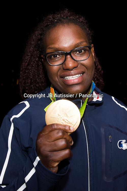 Emilie Andeol - medaille d or +78kg