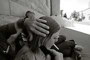 Carey and Travis wedding in Whitehall, MT Saturday Oct. 19 2013.  (Photo/Pat Vasquez-Cunningham