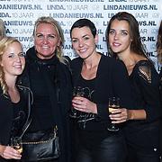 NLD/Amsterdam/20130916 - Linda Magazine bestaat 10 jaar, Lanza team