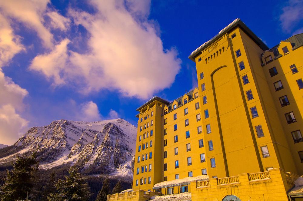 Chateau Lake Louise Hotel, Lake Louise, Banff National Park, Alberta, Canada