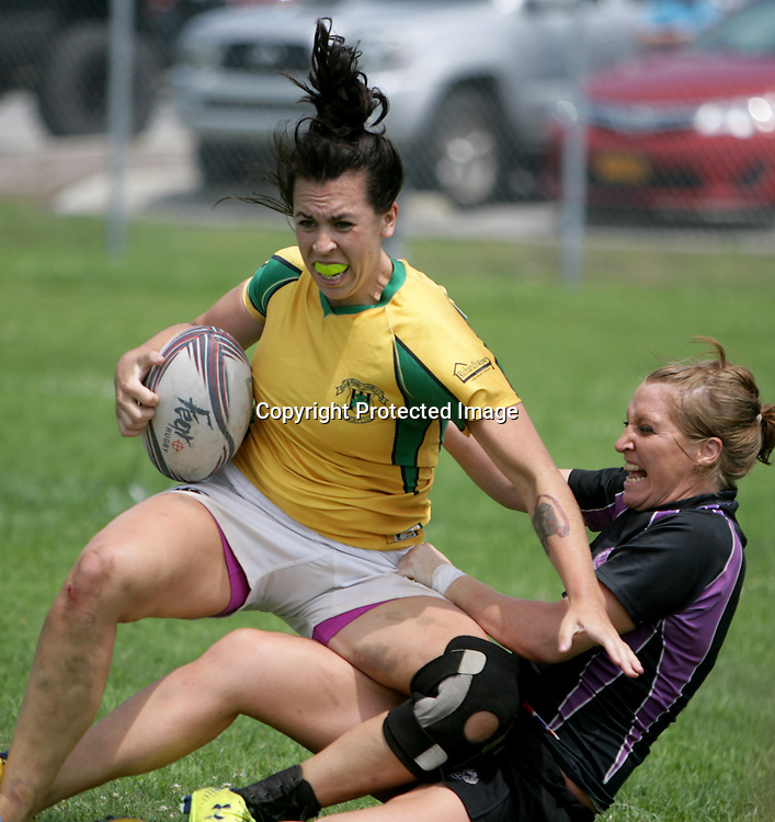 Rugby teams began play in the Cape Fear Seven's Rugby Tournament Saturday July 5, 2014 at Ogden Park in Wilmington, N.C. (Jason A. Frizzelle)