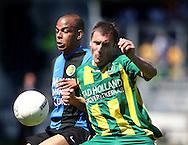 18-05-2008 Voetbal:ADO DEN HAAG:RKC Waalwijk:Waalwijk<br /> Marvin Ogunjimi in duel met Rankovic<br /> Foto: Geert van Erven