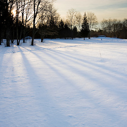 A winter morning at the Willowbrook Farm Preserve in Pembroke, Massachusetts.  Wildlands Trust of Southeastern Massachusetts.