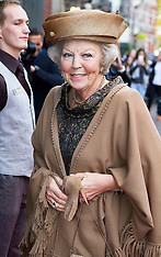 OCT 31 2014 Princess Beatrix at the 65th anniversary of the KWF