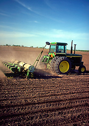 Tractor Tilling Field Agriculture