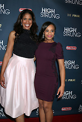 """Nia Sioux, and her mother on left, at the """"High Strung"""" Premeire, TCL Chinese 6 Theaters, Hollywood, CA 03-29-16. EXPA Pictures © 2016, PhotoCredit: EXPA/ Photoshot/ Martin Sloan<br /> <br /> *****ATTENTION - for AUT, SLO, CRO, SRB, BIH, MAZ, SUI only*****"""