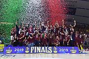 Umana Reyer Venezia premiazione<br /> Umana Reyer Venezia - Banco di Sardegna Dinamo Sassari<br /> Playoff - Finale - Gara 7<br /> Legabasket 2018/2019<br /> Venezia,, 22/06/2019<br /> Foto M.Ceretti / Ciamillo-Castoria