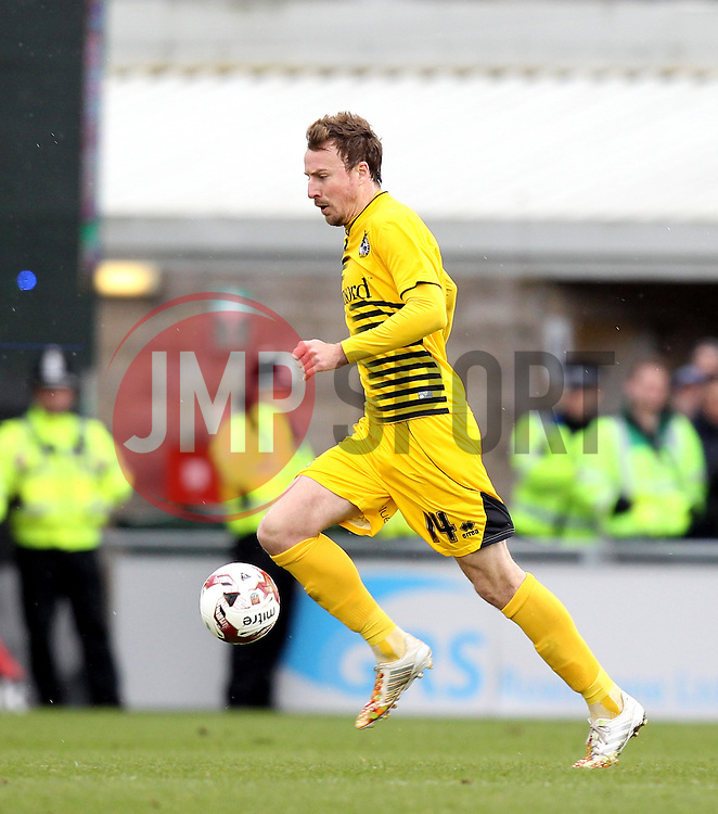 Chris Lines of Bristol Rovers - Mandatory by-line: Robbie Stephenson/JMP - 09/04/2016 - FOOTBALL - Sixfields Stadium - Northampton, England - Northampton Town v Bristol Rovers - Sky Bet League Two