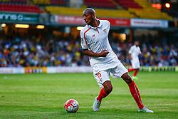 Steven N'Zonzi of Sevilla in action - Mandatory by-line: Jason Brown/JMP - Mobile 07966 386802 31/07/2015 - SPORT - FOOTBALL - Watford, Vicarage Road - Watford v Sevilla - Pre-Season Friendly