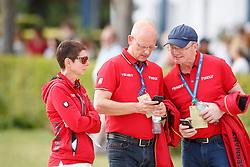 Theodorescu, Monica (GER);<br /> Röser, Klaus (GER);<br /> Schmidt, Hubertus (GER) <br /> Aachen - CHIO 2017<br /> © www.sportfotos-lafrentz.de/Stefan Lafrentz