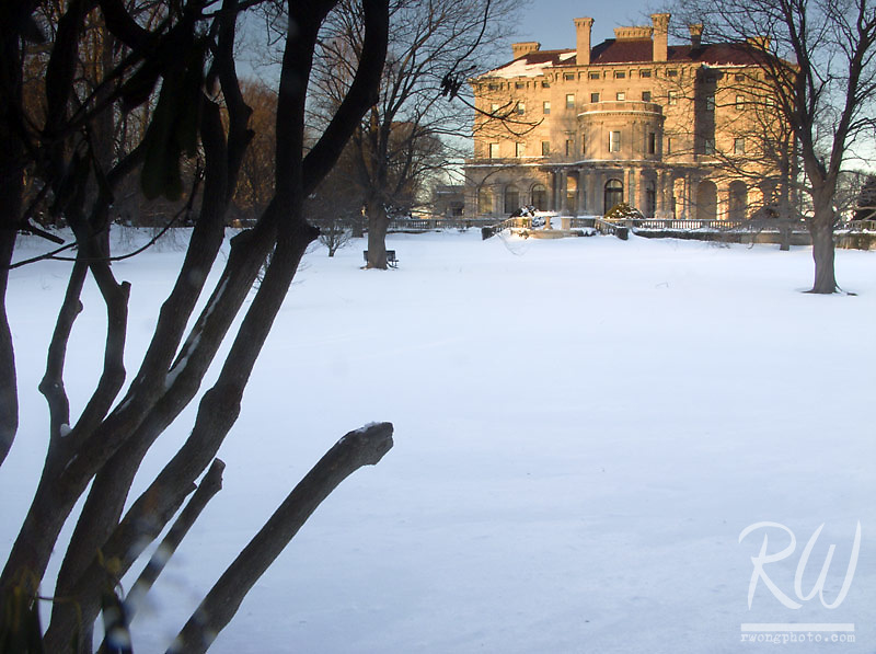 Breakers Mansion in Winter, Newport, Rhode Island