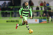 Forest Green Rovers Dan Wishart(17) on the ball during the EFL Sky Bet League 2 match between Forest Green Rovers and Port Vale at the New Lawn, Forest Green, United Kingdom on 6 January 2018. Photo by Shane Healey.