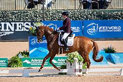 Voets Sanne, NED, Demantur<br /> World Equestrian Games - Tryon 2018<br /> © Hippo Foto - Sharon Vandeput<br /> 22/09/2018