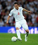 Frank Lampard.England 2009/10.England V Croatia (5-1) 09/09/09 .World Cup Qualifier 2010 at Wembley Stadium.